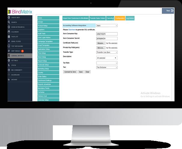 BlindMatrix - Accounting Software Integration
