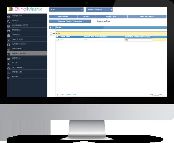 BlindMatrix - Capacity Planning