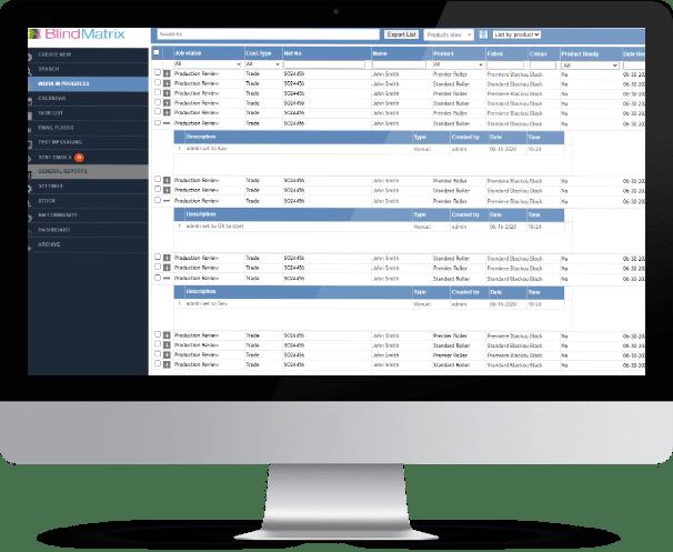 BlindMatrix - Production Monitoring