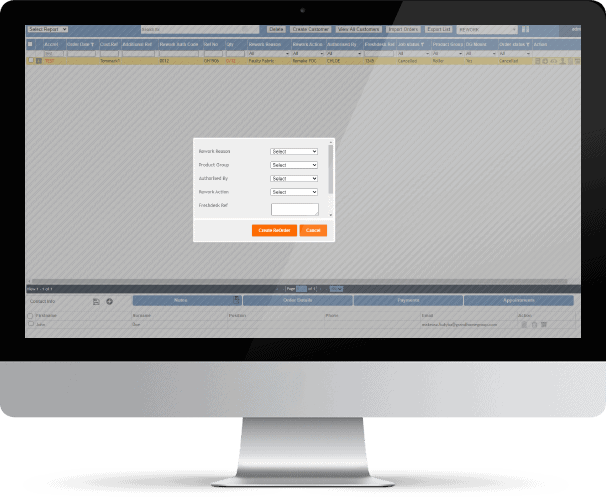 BlindMatrix - Rework Management