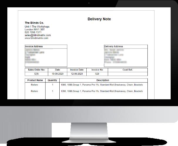 BlindMatrix - Shipment Management